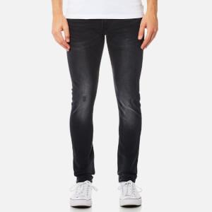 Superdry Men's Skinny Jeans - Dusted Black Blue