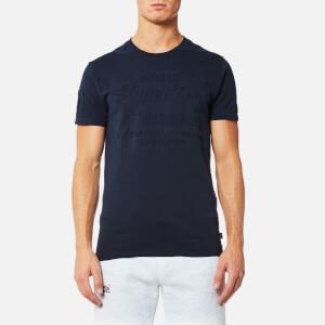 Superdry Men's Premium Goods Embossed T-Shirt - Nautical Navy
