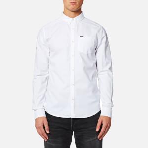 Superdry Men's Ultimate Oxford Long Sleeve Shirt - Optic White