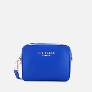 Ted Baker Women's Emilii Letters Cross Body Bag - Bright Blue