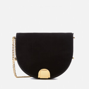 Ted Baker Women's Flossi Suede Detail Moon Bag - Black