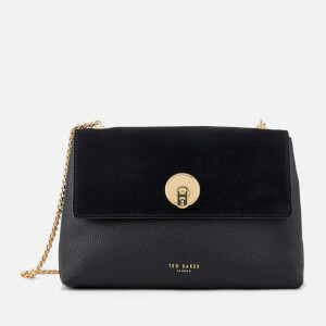 Ted Baker Women's Sorikai Circle Lock Cross Body Bag - Black