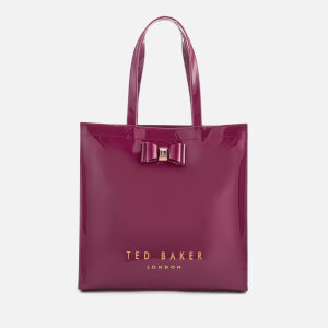 Ted Baker Women's Bethcon Bow Detail Large Icon Bag - Oxblood