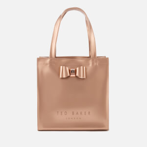 Ted Baker Women's Jenacon Bow Detail Small Icon Bag - Rose Gold