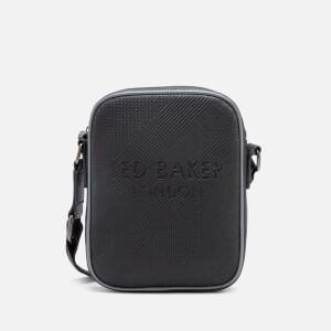 Ted Baker Men's Heliox Embossed Mini Flight Bag - Black