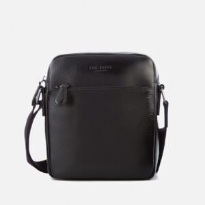 Ted Baker Men's Tinecore Leather Mini Flight Bag - Black