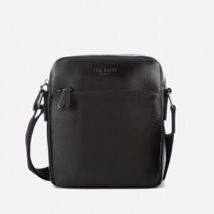 Ted Baker Men's Tinecore Leather Mini Flight Bag - Black