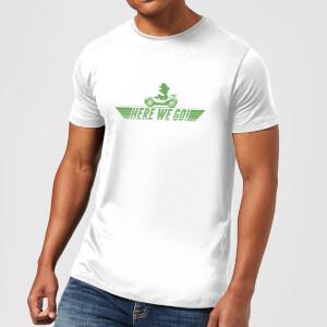 任天堂马里奥卡丁车Here We Go Luigi男士马里奥T-shirt
