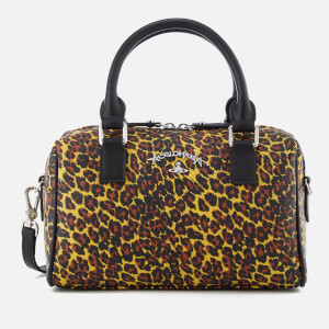 Vivienne Westwood Anglomania Women's Leopard Handbag - Yellow