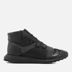 Y-3 Men's Kozoko High Sneakers - Core Black/Core Black