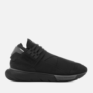 Y-3 Men's Qasa High Sneakers - Core Black/Core Black