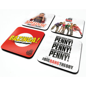 The Big Bang Theory Coaster Set