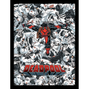 Affiche Encadrée Marvel Deadpool Bodies - 30 x 40 cm