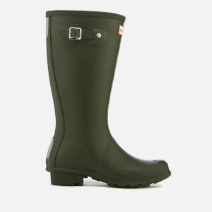 Hunter Kids' Original Wellies - Dark Olive