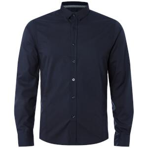 Brave Soul Men's Tudor Shirt - Dark Navy