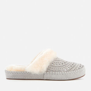 UGG Women's Aira Sunshine Perf Slippers - Seal