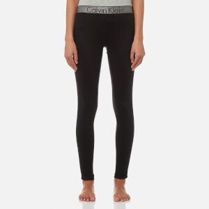 Calvin Klein Women's Logo Leggings - Black