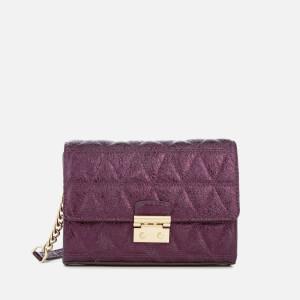 MICHAEL MICHAEL KORS Women's Ruby Medium Clutch Bag - Damson