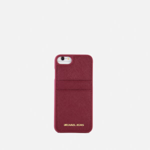 MICHAEL MICHAEL KORS Women's Leather iPhone 7 Cover - Mulberry