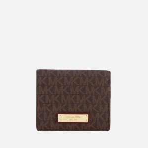MICHAEL MICHAEL KORS Women's Flap Card Holder - Brown/Mulberry