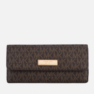 MICHAEL MICHAEL KORS Women's Flat Wallet - Brown