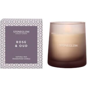 Stoneglow Geometric Collection Rose and Oud Tumbler