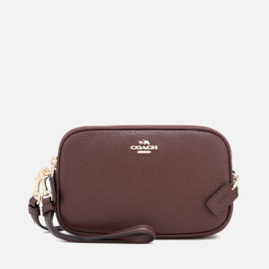 Coach Women's Cross Body Clutch Bag - Oxblood
