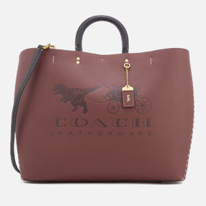 Coach 1941 Women's Rogue Tote Bag - Burgundy