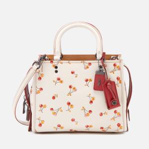 Coach 1941 Women's Cherry Print Rogue Shoulder Bag - Chalk