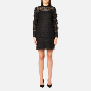 MICHAEL MICHAEL KORS Women's Lace Mix Dress - Black