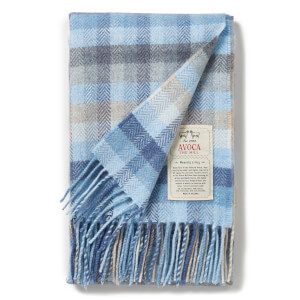 Avoca Baby Blanket - Blue