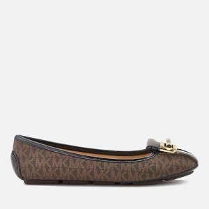 MICHAEL MICHAEL KORS Women's Gloria Moc Ballet Flats - Brown
