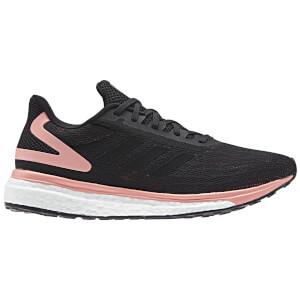 adidas Women's Response Light Running Shoes - Black/Pink