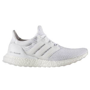 adidas Men's Ultra Boost Running Shoes - White