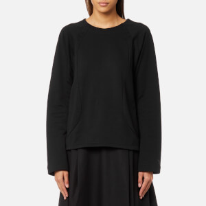Y-3 Women's 3 Stripe Sweatshirt - Black