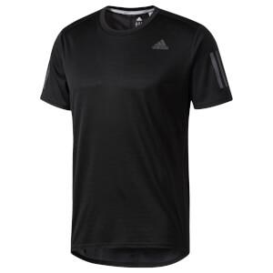 adidas Men's Response Running T-Shirt - Black