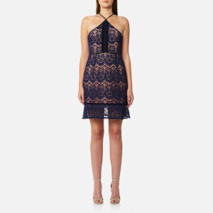 Foxiedox Women's Morganne Halter Dress - Navy