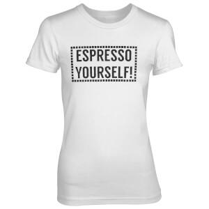 T-Shirt Femme Espresso Yourself! - Blanc