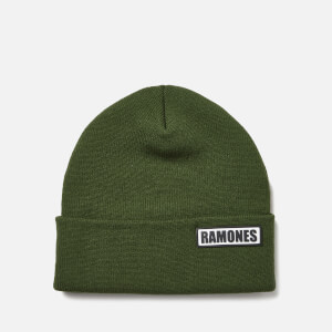 Ramones Beanie Hat - Khaki