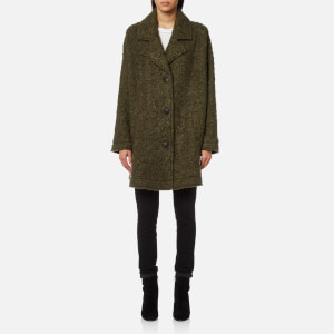 McQ Alexander McQueen Women's Volume Caban Coat - Khaki