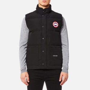 Canada Goose Men's Freestyle Crew Vest - Black