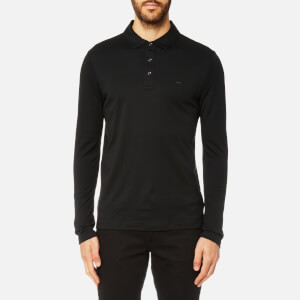 Michael Kors Men's Short Sleeve Polo Shirt - Black