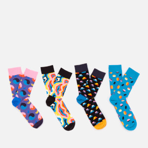 Happy Socks Mens Pop Socks Gift Box - Multi - UK 7.5-11.5