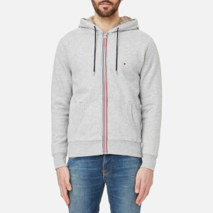 Tommy Hilfiger Men's Sasha Zip Hoody - Cloud Heather