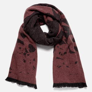 McQ Alexander McQueen Men's Swallow Degrade Scarf - Charcoal