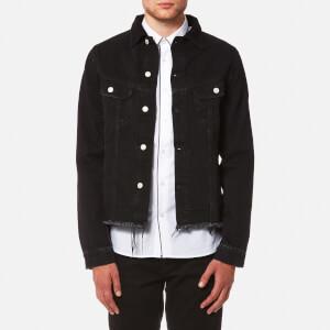 Officine Générale Men's Clint Japanese Denim Jacket - Black