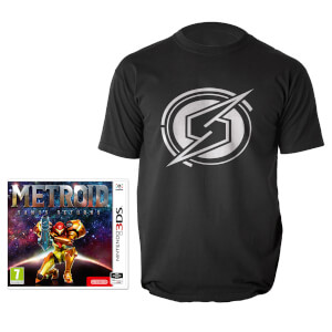 Metroid: Samus Returns + T-Shirt (L)