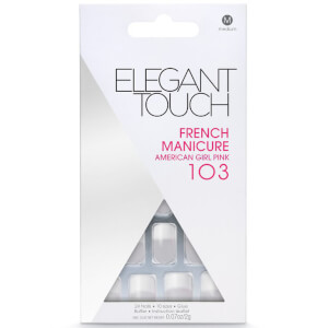 Elegant Touch French Manicure Nails