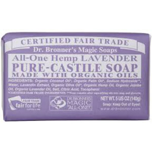 Dr Bronner Lavender Bar Soap