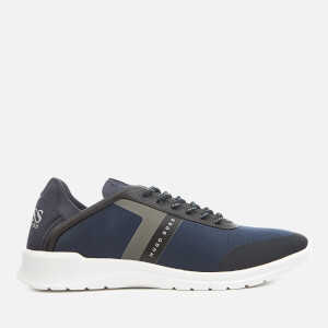 BOSS Green Men's Extreme Sporty Running Trainers - Dark Blue
